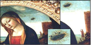 madonna,ufo,gemälde