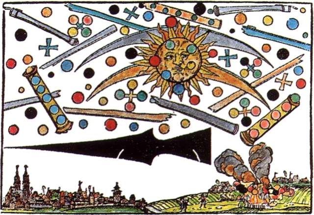 nürnberg,kometen,sternhimmel